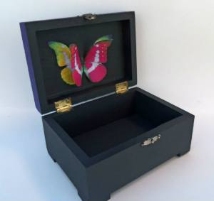 Hand painted boxes by Creative Dragons.