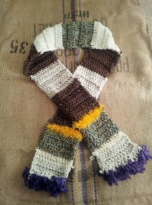 The Rocky Road scarf...