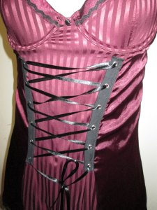 Burlesque/Steampunk/Tribal/Belly Dancer corset, perchance?