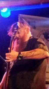 GAZ bassist, just as his Mohawk began to crescendo...